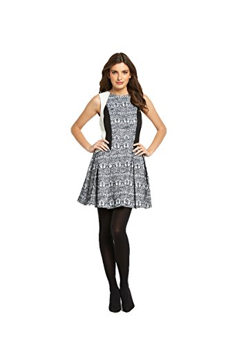 definitions-contrast-jacquard-dress-in-mono-size-12