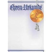 Albert Hoffmann Urkundenverlag Tischtennis / 915 / 941 / / PC-Urkunden (170 g/m²) 10 Stk
