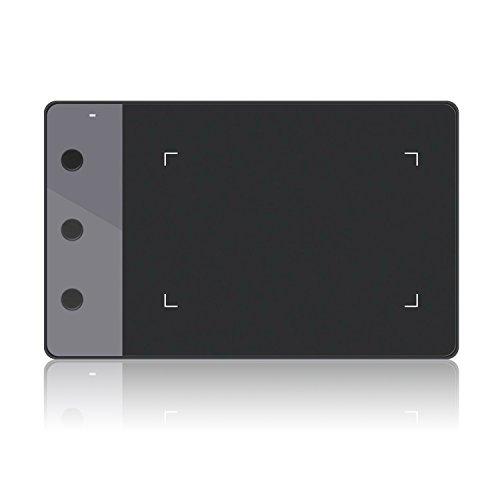Huion H420 Grafiktablett mit 3 Express- Keys für Unterschreiben und OSU