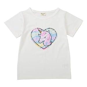 Camisetas Lentejuelas Mágico Reversibles Algodón
