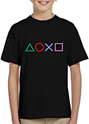 Cloud City 7 Playstation Shapes Kid's T-S