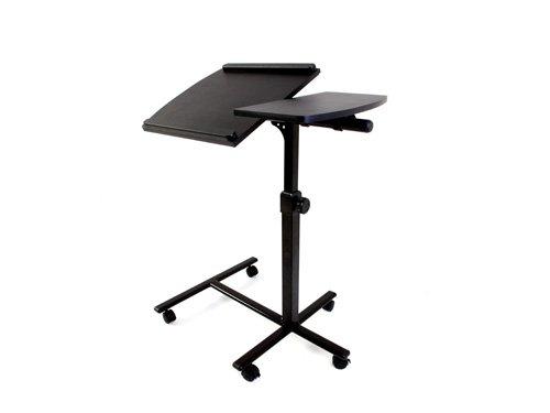 Laptop-ständer Mit Lautsprecher (Lavolta Notebook Laptop Tisch Schreibtisch Ständer mit Mauspad - Schwarz)