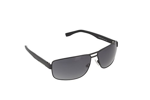 BOSS Hugo Herren 0668/S HD 10G Sonnenbrille, Schwarz (Mtblk Black/Grey Sf), 65