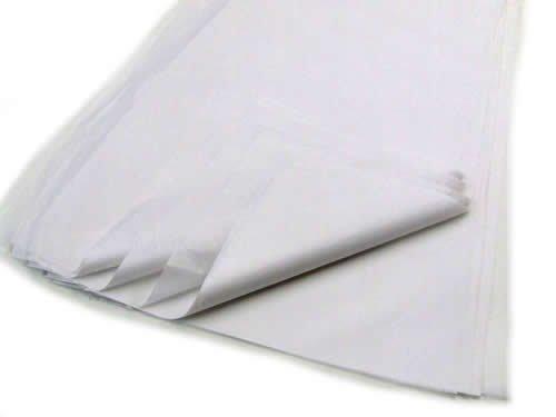 Caraselle 25 feuilles de papier de soie blanches sans acide 17 g/m² 50 x 75 cm