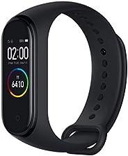 Xiaomi mi band 4 Smart fitness armband hartslagmeter 135 mAh kleurenbeeldscherm Bluetooth 5.0 nieuwste 2019 (zwart)