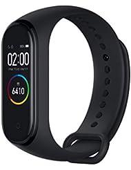 Xiaomi mi Band 4 Smart Fitness Braccialetto Monitor della frequenza cardiaca 135 mAh Schermo Color Bluetooth 5.0 più recente 2019(Nero)