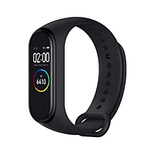 Xiaomi Band 4 Pulsera de Fitness Inteligente Monitor de Ritmo cardíaco 135 mAh Pantalla Color Bluetooth 5.0 más Reciente… 5