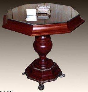 Table octogonale style antique baroque rococo Louis XV MoTa0913