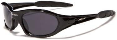 X-Loop ® Gafas de Sol - La nueva colección - Modelo Deportivo - Gafas de Sol / Esqui / Deportes - Protección UV400 (UVA & UVB) (Negro)