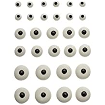 30 Zucker Augen in 3 Größen