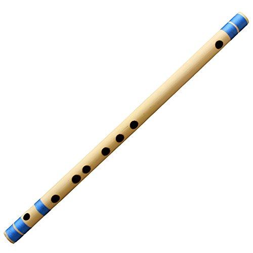 Anfänger Querflöte Bansuri/Professional indische Bambus Flöte (D # Tune) Woodwind Musikinstrument 41cm