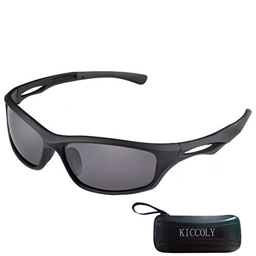 KICCOLY Gafas Sol Deportivas Polarizadas Hombre Esquiar