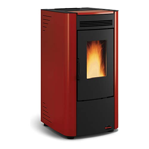 La Nordica - Extraflame Pelletofen Ketty (6 kW) Metall Bordeaux