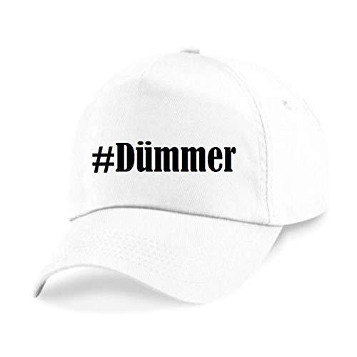 p Hashtag #Dümmer Größe Uni Farbe Weiss Druck Schwarz ()