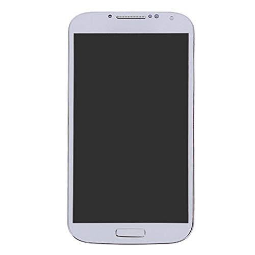 Almencla Écran D'affichage pour Samsung S4 écran de Remplacement LCD Tactile Numériseur Assemblée avec Kit d'Outils Complet - Blanc