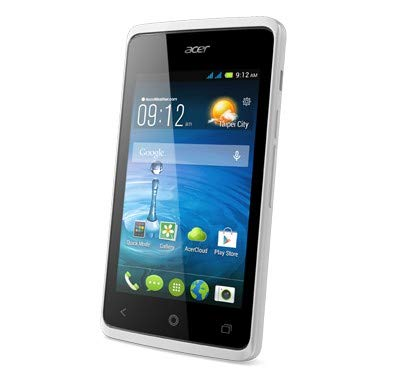 Acer Liquid Z200Duo 4GB weiß-Smartphone (Dual SIM, Android, Edge, GPRS, GSM, HSDPA, HSUPA, Micro-USB, Balken) -
