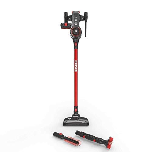Hoover fd22br aspirateur, 0,7l, noir et rouge métallique brillant