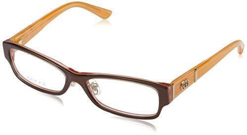 Gucci Damen GG-3526-U-F Brillengestelle, Rot, 53