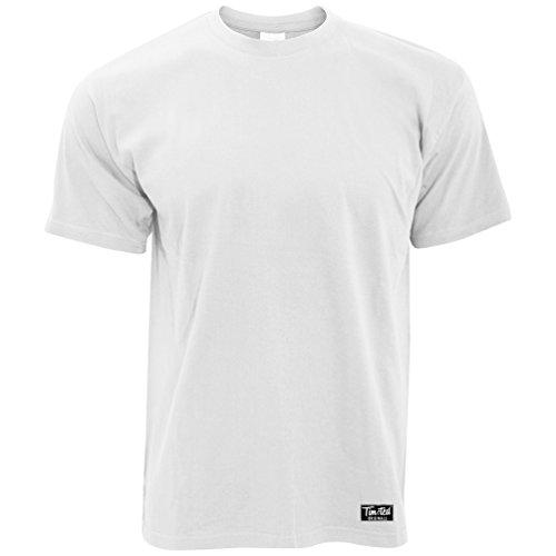 Tim und Ted Logo Premium-Plain Herren T-Shirt Kleider (Geschenk-logo-shirt Personalisierte)