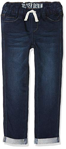 s.Oliver Junior Jungen 74.899.71.0513 Jeans, Blau (Blue Denim Stretch 57z7), 134