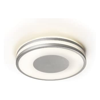 Philips ecomoods ceiling light aluminium includes 1 x 40 watts philips ecomoods ceiling light aluminium includes 1 x 40 watts 2gx13 bulb two colour aloadofball Image collections