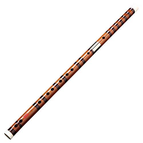 ZFF Flöte Musikinstrument Bambusflöte für Erwachsene Performance C, D, E, F, G Tune, chinesische Dizi quer für Anfänger g