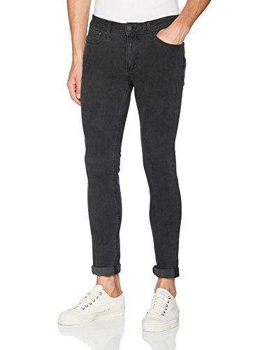 JACK & JONES Herren Skinny Jeans Schwarz (Black Denim)
