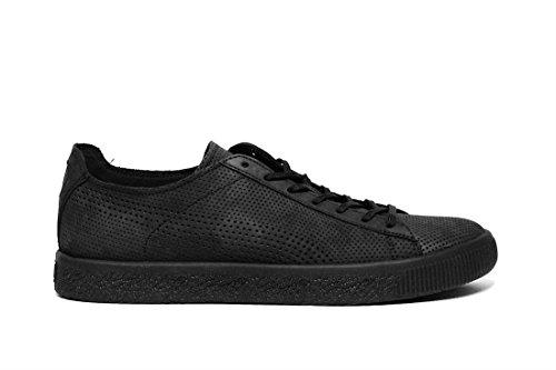 Puma X Stampd Clyde Homme Baskets Mode Noir Nero