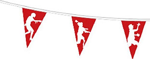 Zombie Apocalypse Superior Polyester Flagge Wimpelkette 5m (16') Wimpelkette mit 12Flaggen