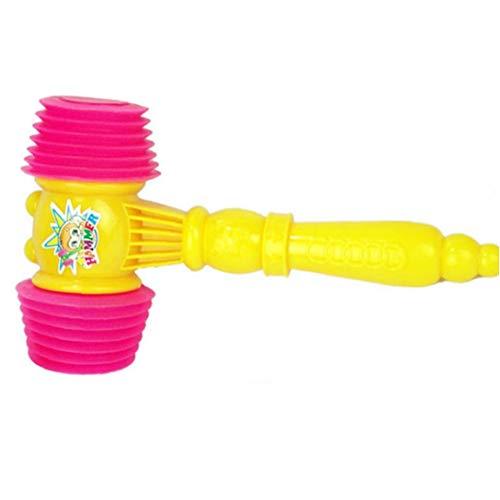 tJexePYK Squeaky Hammer Kunststoff Hammer Quietschend Spielzeug-Pfeife-Ton-Spielzeug Für Kinder Baby-Und Party-Bevorzugungen Toy Hammer 1PC