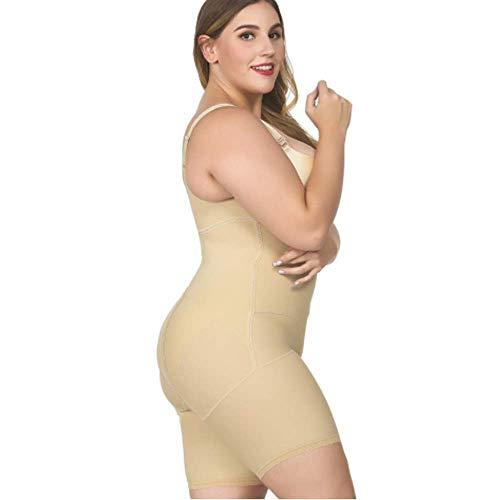 QJXSAN Die Großformat-Mode Body nahtlos Körperformung Körper Kontrolle Korsett, leichte Körper Kleidung gestalten Gestaltung (Korsett Mode)