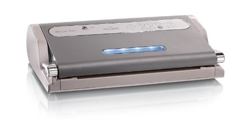 Magic Vac Maxima 2 - vacuum sealers (Grey, 820 mbar, 4 kg, 44 x 24 x 11 mm, 130 W, 230 V)