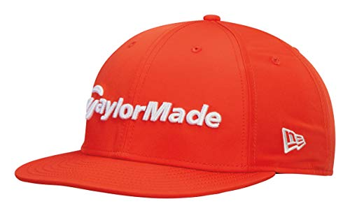 9046043f TaylorMade 2019 Performance New Era 9Fifty Chapeau Réglable Snapback pour  Hommes Saftey Orange