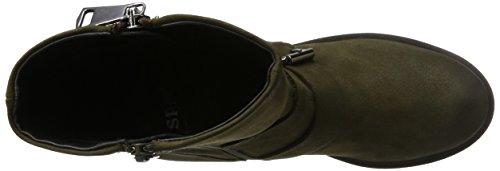 PMS Lalta 3/4 Boot, Bottes Motardes femme Grün (Kaki Green)