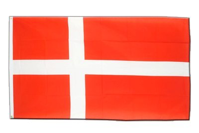 Dänemark Flagge, dänische Fahne 90 x 150 cm, MaxFlags® (Flagge Dänische)