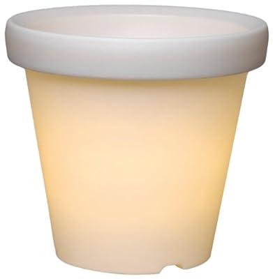 Best Season 491-42 System 24 LED-Pot - Extra, Höhe ca. 36 cm, weiss von Best Season - Lampenhans.de