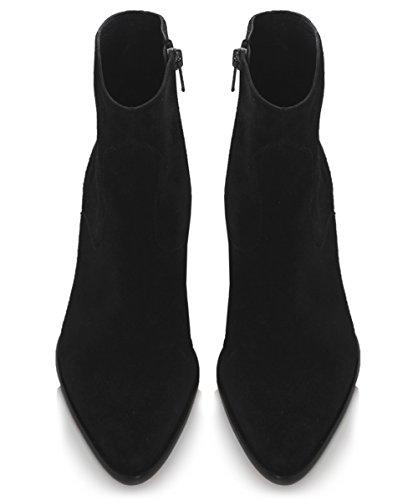 Ash Femmes Heidi Baby bottines daim Noir Noir