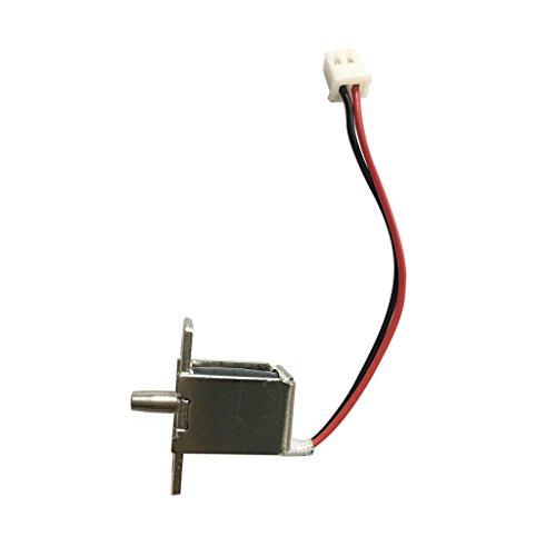 MagiDeal Dc12v Mini Elektrische Schloss Zunge Magnetschloss Sicherheitsschloss Eletroschloss