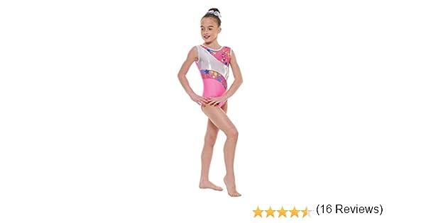 Body da ginnastica in lycra con rivestimento di nylon modello Gym 39 Tappers /& Pointers