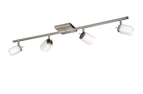 Bright Light 542741710 Mirati Éclairage de Plafond Forme Spéciale Nickel 4 x 40 W
