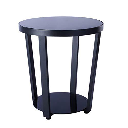 mit Glasplatte in Schwarz Gartenm/öbel Quadratisch Alu Tisch 84,5x84,5x74 cm Balkontisch Terrassentisch Jago Aluminum Gartentisch Glastisch f/ür 4 Personen