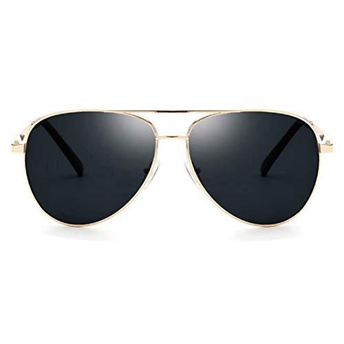 Polarisierte Sonnenbrille mit UV-Schutz Retro Männer polarisierte Sonnenbrille UV-Schutz Sport Sonnenbrille Fahren Sonnenbrillen umrandeten Metallrahmen Sonnenbrillen für Reisen Baseball Laufen Radfah