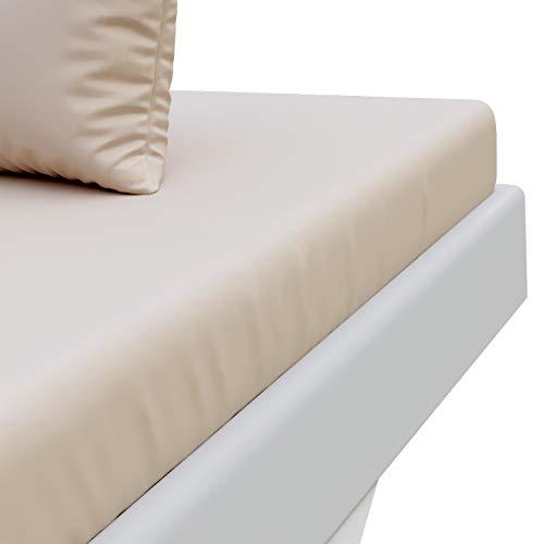 Dreamzie Spannbettlaken mit 100% Polyester Microfaser, 30cm Hoher Steg – Ohne Chemische Substanzen Zertifiziert – Spannbetttuch, Spannleintuch Zertifiziert nach Oeko TEX, 2 Jahre Garantie