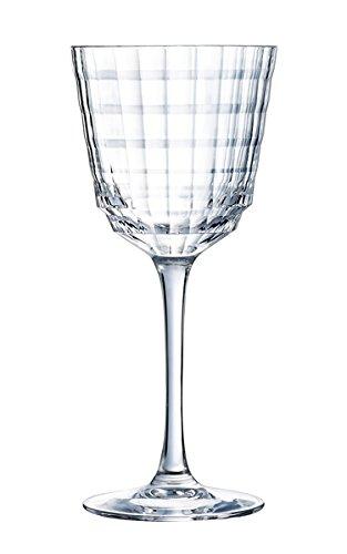 Cristal d'Arques L8164 Lot de 6 Verres à Pied Transparent