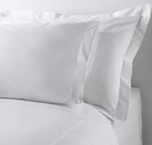 Plushy Comfort Color Blanco 96 x 104 Pulgadas, 100/% algod/ón Egipcio, 800 Hilos S/ábana encimera