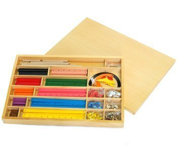 Montessori Geometric Stick Material by D & D Distributor