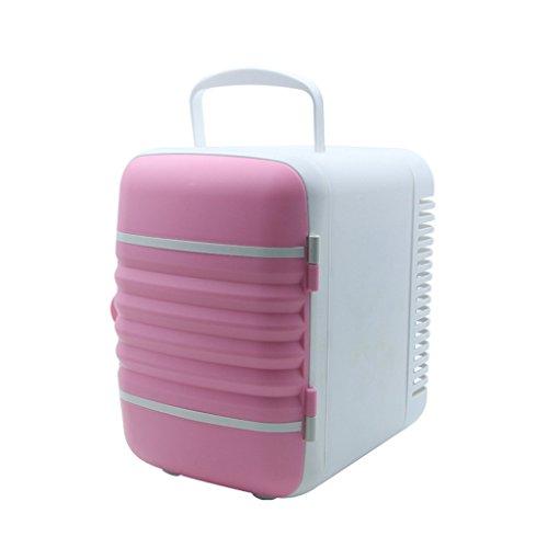 Feine Produkte XQCYL Kühlschrank Elektrische Kühlbox Freistehende Gefrierschrank, Thermoelektrische Kühlbox mit Kühlung und Wärmende Funktion Auto Kühlschrank Mini Kühlschrank (24 * 18 * 23Cm)