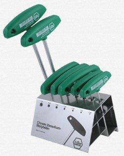 WIHA Torx174; T-Handle Set - Model: 36490 Size Range: T10, T15, T20, T25,T30,T40,T50 -