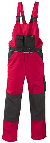 teXXor 2-in-1 Arbeitsbundhose Canvas 320 mit Cordura, verstärkt rot 50, 20-008333-50