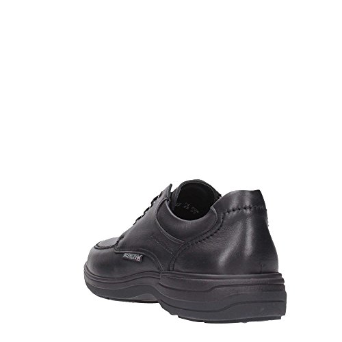 Mephisto Mens Douk Leather Shoes Noir